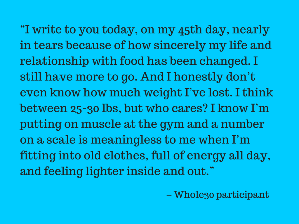 Whole30Quote