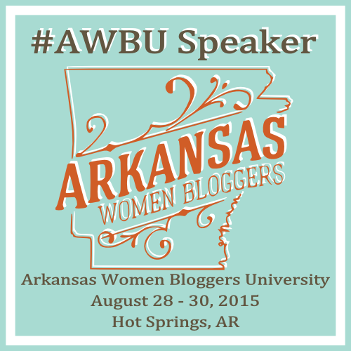 Arkansas Women Bloggers speaker