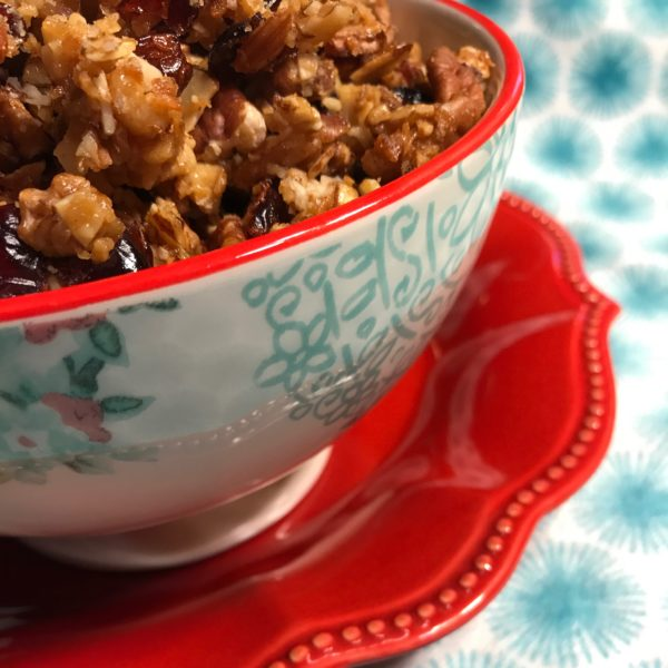 nutty grain-free granola