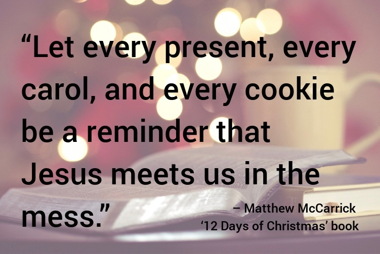A Different Kind Of Christmas.12 Days Of Christmas A Different Kind Of Devotional To